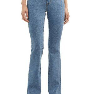 New Juniors Size 9 Blue Jeans Mid Rise Boot Cut